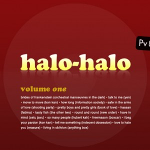 Halo-Halo Vol.1 | New Wave Music
